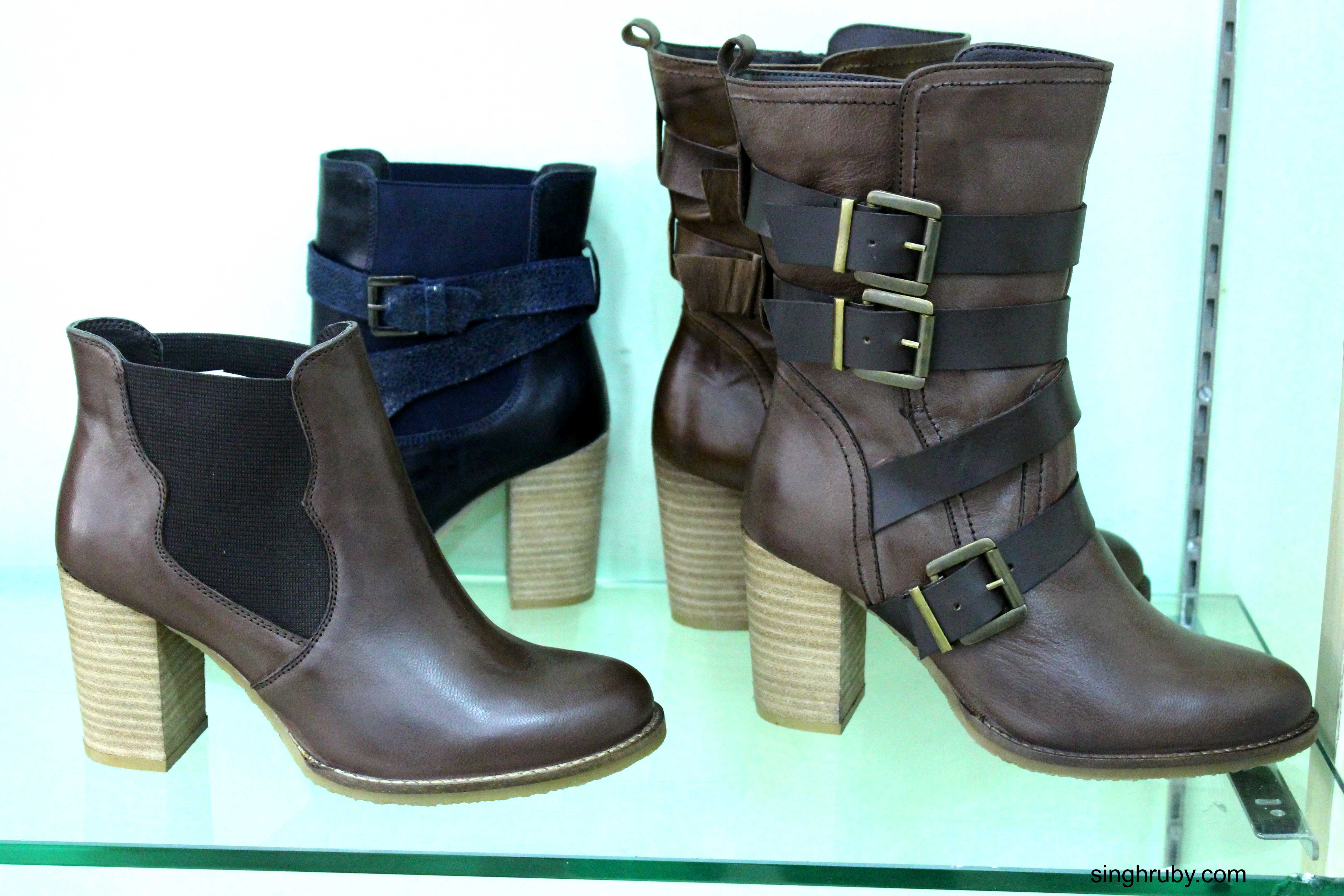 You can spot all varieties of boots here.