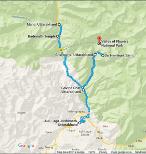 A detailed insight into my itinerary of Valley Of Flower trek