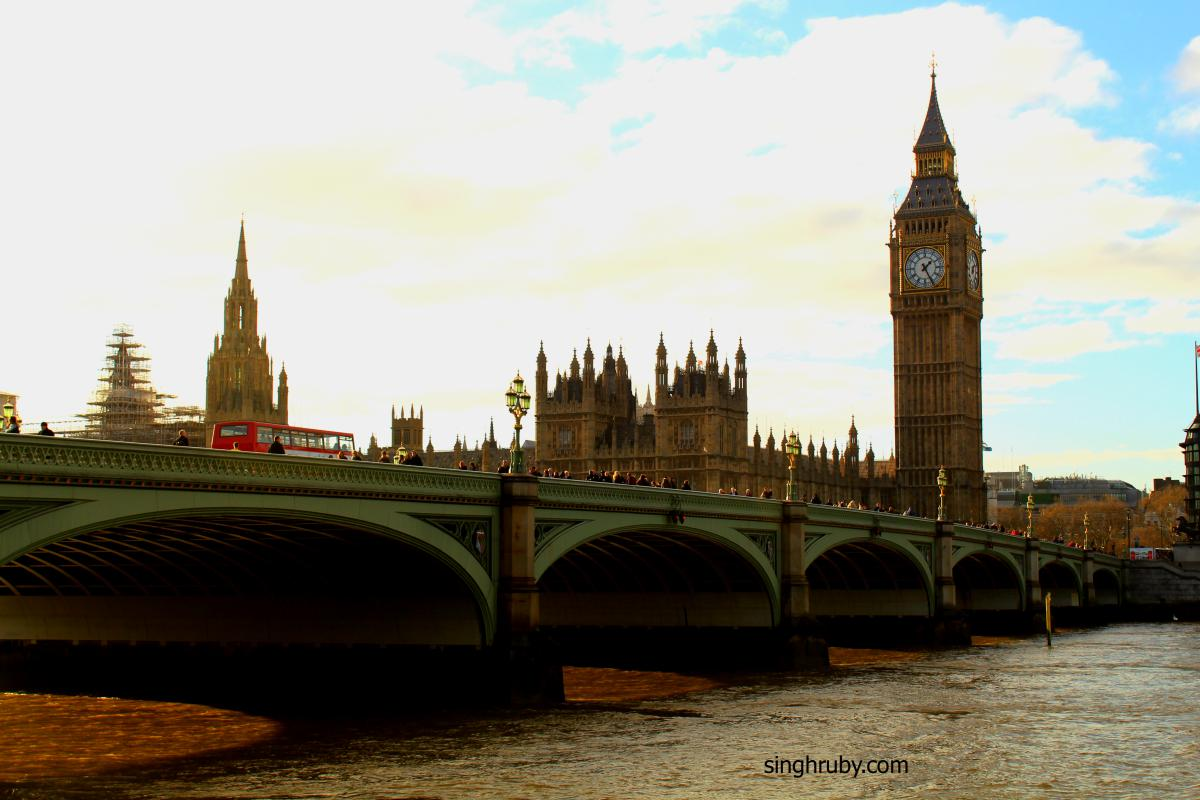London Bridge and Big Ben