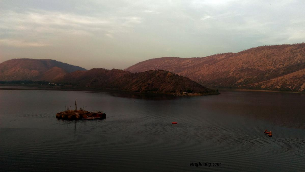 Sariska Lake with Zenfone Laser 2
