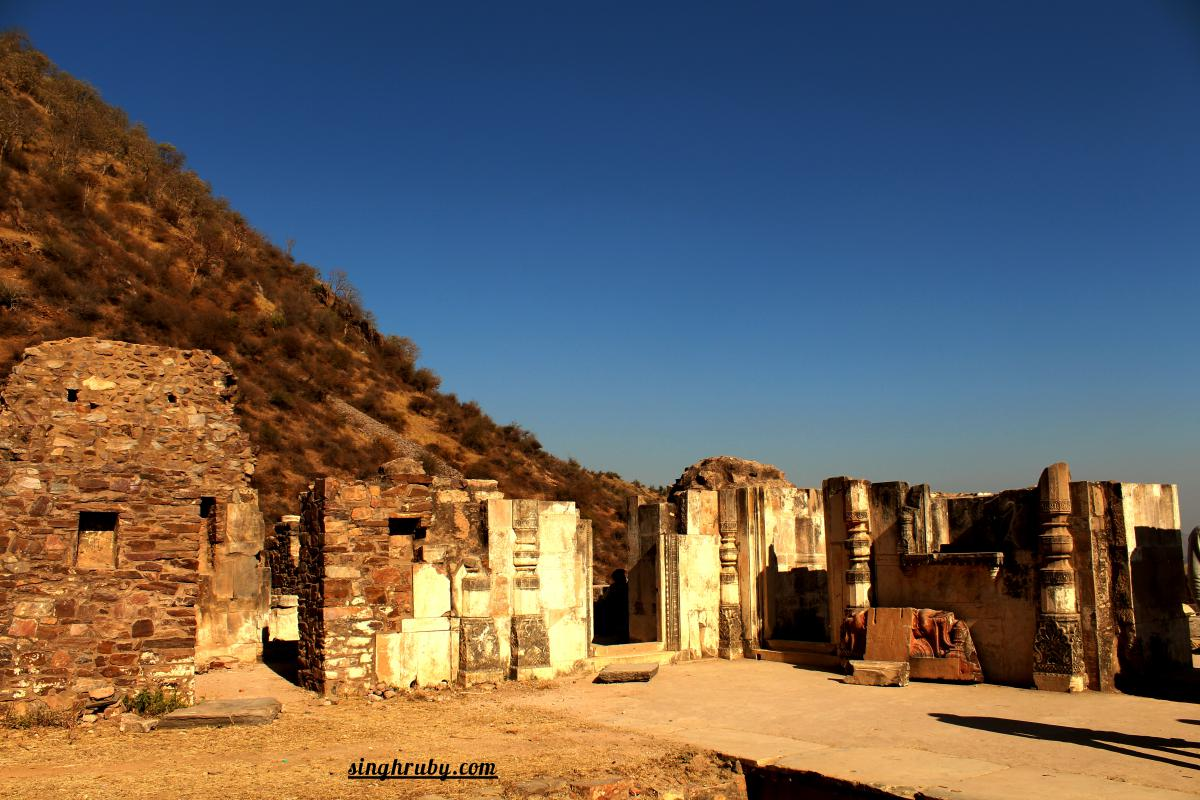 Picture perfect at Bhangarh Fort
