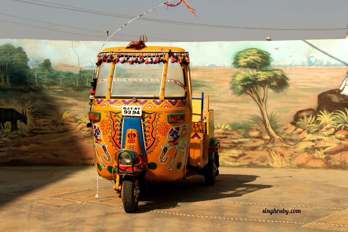 Yellow auto at Rann City