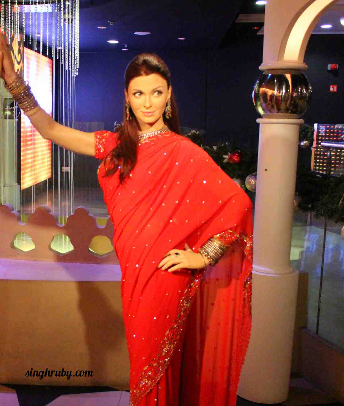 Aishwarya Rai Bachhan at Madam Tussauds London