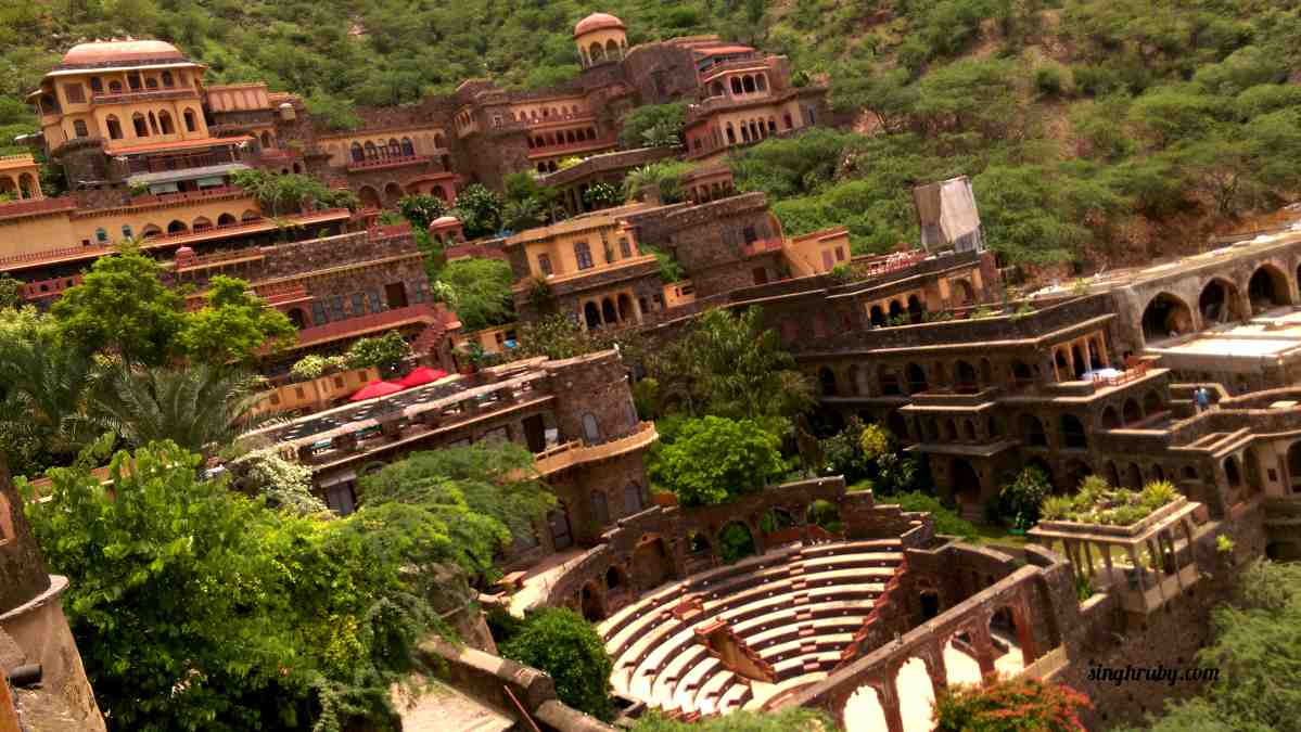 Holistic View of Neemrana Fort Palace