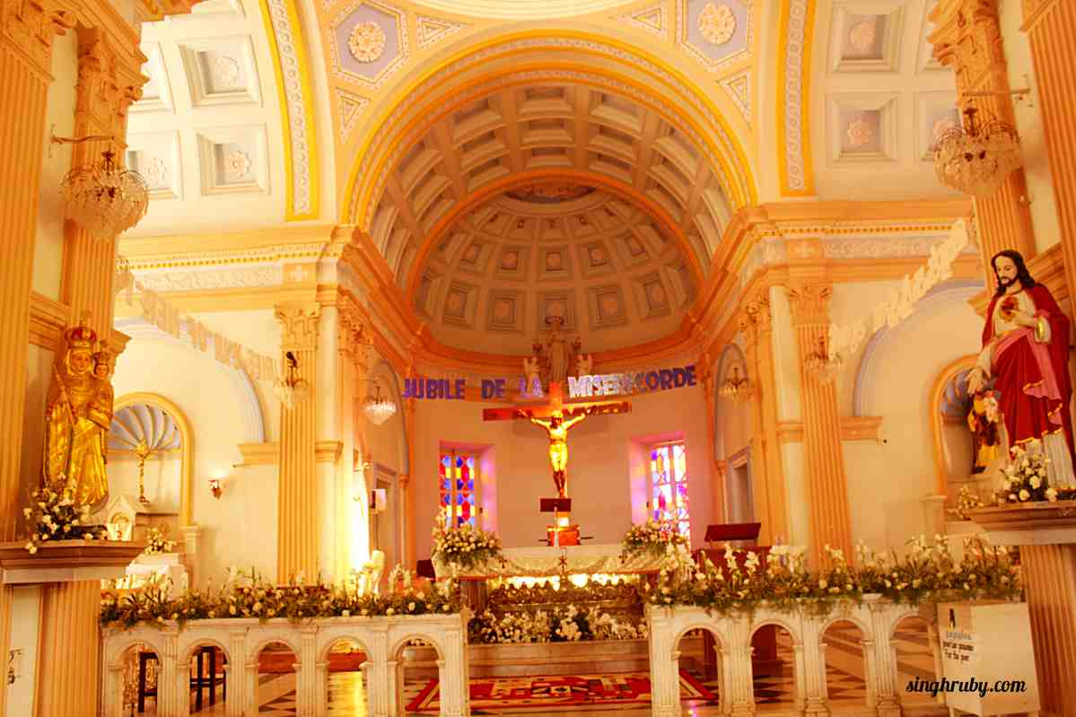 Beautiful church in Pondicherry